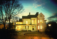 The Old Kentucky Home at Night