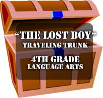 logo lost boy trunk