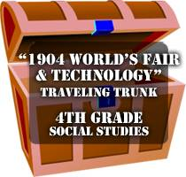 logo worlds fair trunk